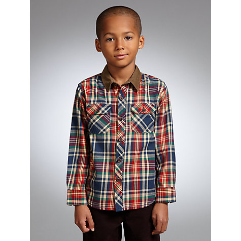 Buy John Lewis Boy Straight Fit Jeans, Denim Online at johnlewis.com