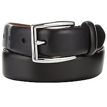 Buy Polo Ralph Lauren Leather Pin Buckle Belt, Black Online at johnlewis.com