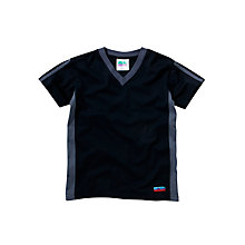Buy Guides Uniform V-Neck T-Shirt, Navy Online at johnlewis.com