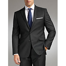 Buy John Lewis Tailored Wool Herringbone Suit, Blue Online at johnlewis.com
