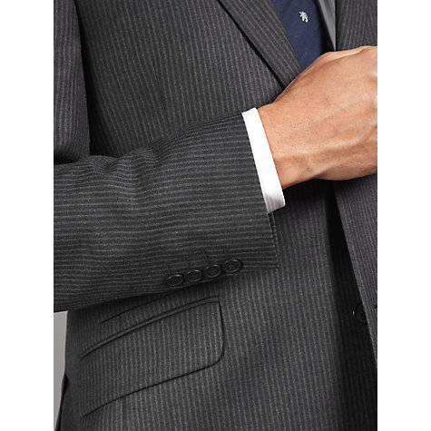 Buy John Lewis British Striped Suit Jacket, Charcoal Online at johnlewis.com