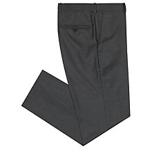 Buy John Lewis British Checked Suit Trousers, Charcoal Online at johnlewis.com