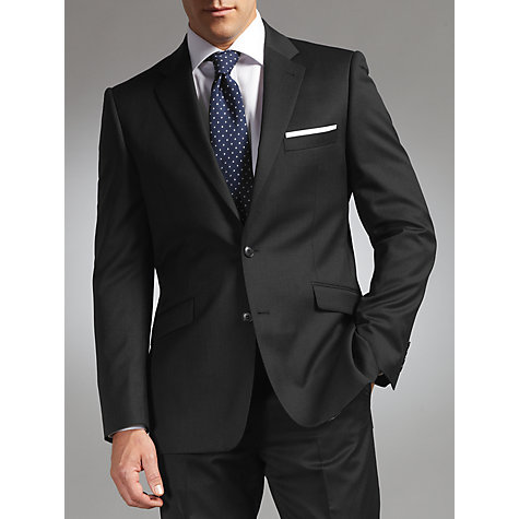 Buy John Lewis Tailored Travel Suit Jacket, Charcoal Online at johnlewis.com