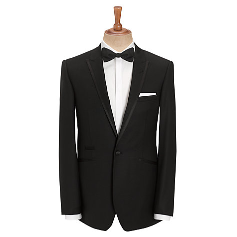 Buy John Lewis Slim Fit Dress Suit Jacket, Black Online at johnlewis.com