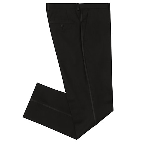 Buy John Lewis Slim Fit Dress Suit Trousers, Black Online at johnlewis.com