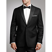 Buy John Lewis Tailored Peak Lapel Dress Suit, Black Online at johnlewis.com