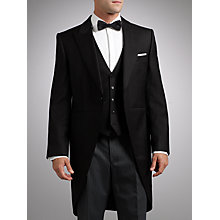 Buy John Lewis Tailored Morning Suit, Black Online at johnlewis.com