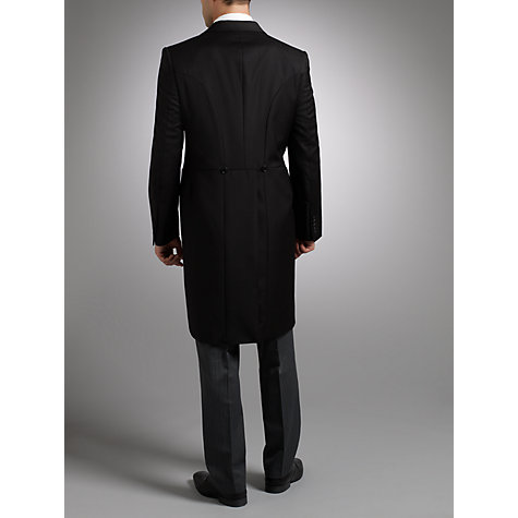 Buy John Lewis Tailored Morning Suit Tailcoat, Black Online at johnlewis.com