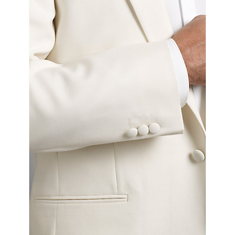 Buy John Lewis Tailored Dresswear Jacket, White Online at johnlewis.com