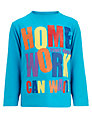 Funky Monkey Homework Can Wait Long Sleeved Top, Turquoise