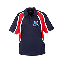 Buy Fairley House School Unisex Polo Shirt, Navy Online at johnlewis.com