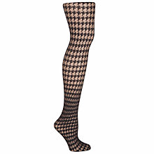 Buy John Lewis Dogtooth Tights Online at johnlewis.com