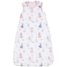 Buy John Lewis Baby Fairy Sleeping Bag, 2.5 Tog, Pink Online at johnlewis.com