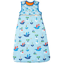 Buy John Lewis Baby Pirate Sleeping Bag, 2.5 Tog, Blue Online at johnlewis.com