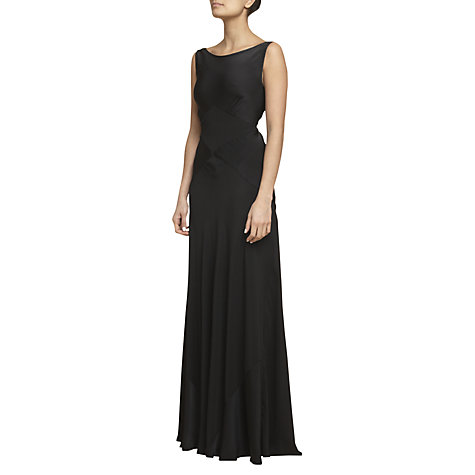 Buy Ghost Chelsea Chiffon Tie Long Dress Online at johnlewis.com