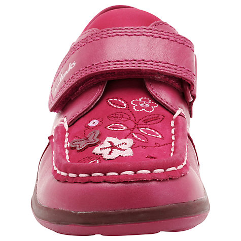 Buy Clarks Alana Lou Shoes, Raspberry Online at johnlewis.com
