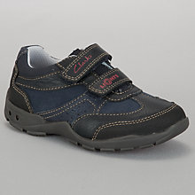 Buy Clarks Flashtime Trainers, Navy Online at johnlewis.com
