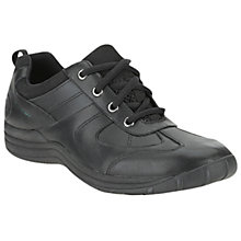 Buy Clarks Nailbourne Shoes, Black Online at johnlewis.com
