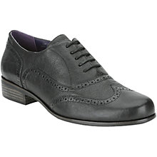 Buy Clarks Hamble Oak Leather Wingtip Brogues, Black Online at johnlewis.com