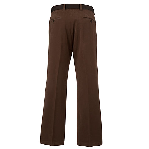 Buy John Lewis Stretch Twill Belt Trousers Online at johnlewis.com