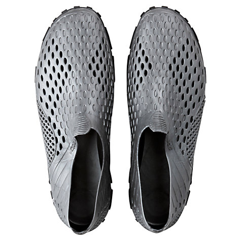 Buy Speedo Fleet Pool Shoes, Grey/Black Online at johnlewis.com