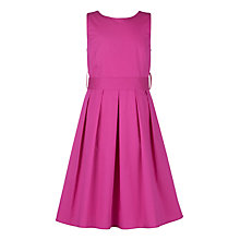 Buy John Lewis Girl Dress, Fuchsia Online at johnlewis.com