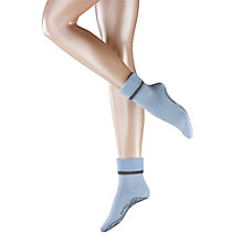 Buy Falke Cuddle Pad Socks, Light Blue Online at johnlewis.com