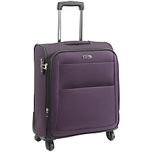 Buy Antler Tourlite II 4-Wheel Spinner Suitcase, Purple, Large Online at johnlewis.com