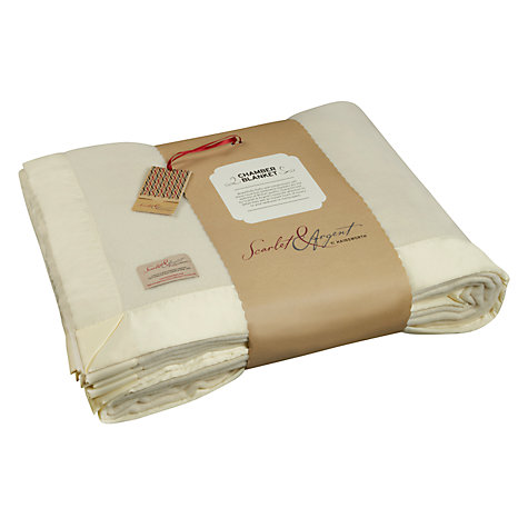 Buy Scarlet & Argent Chamber Blanket Online at johnlewis.com