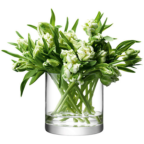 Buy LSA Flower Column Vase Online at johnlewis.com