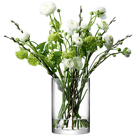 Buy LSA International Flower Column Vase Online at johnlewis.com