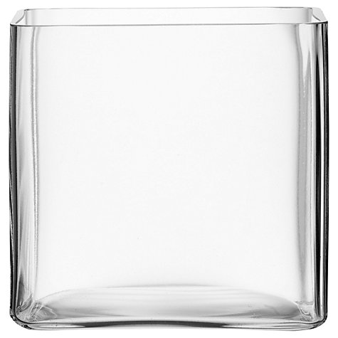 Buy LSA International Cube Vase Online at johnlewis.com