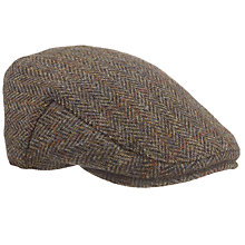 Buy JOHN LEWIS & Co. Harris Tweed Flat Hat Online at johnlewis.com