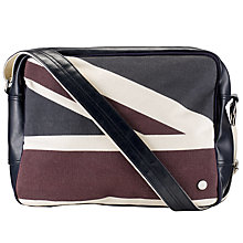 Buy Ben Sherman Union Jack Flight Bag, Navy Online at johnlewis.com