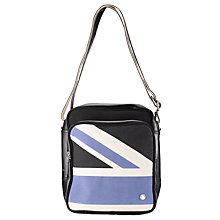 Buy Ben Sherman Union Jack Scooter Bag, Black/Blue Online at johnlewis.com