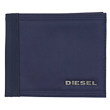 Buy Diesel Output Nylon and PVC Wallet, Navy Online at johnlewis.com