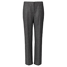 Buy John Lewis Tweed Trousers, Grey Online at johnlewis.com
