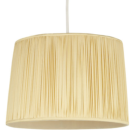 Buy John Lewis Isadora Silk Tapered Shade Online at johnlewis.com