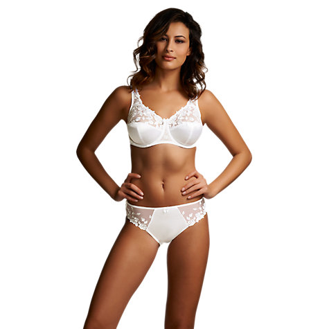 Buy Fantasie Belle Briefs, White Online at johnlewis.com