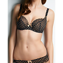 Buy Freya Patsy Plunge Bra, Black Online at johnlewis.com