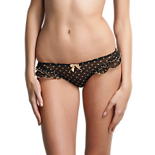 Buy Freya Patsy Briefs, Black Online at johnlewis.com