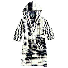 Buy Joules Rita Stripe Robe, Navy Online at johnlewis.com