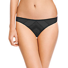 Buy Huit Rumeur Thong, Black Online at johnlewis.com