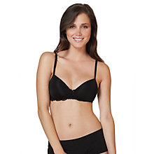 Buy John Lewis Lace Detail Non Wired Bra Online at johnlewis.com