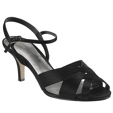 Buy John Lewis Fizz Occasion Sandals, Black Online at johnlewis.com