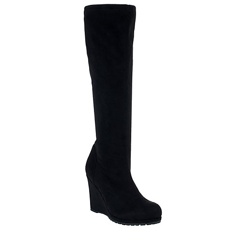 Buy John Lewis Penny Wedged Knee Boots Online at johnlewis.com