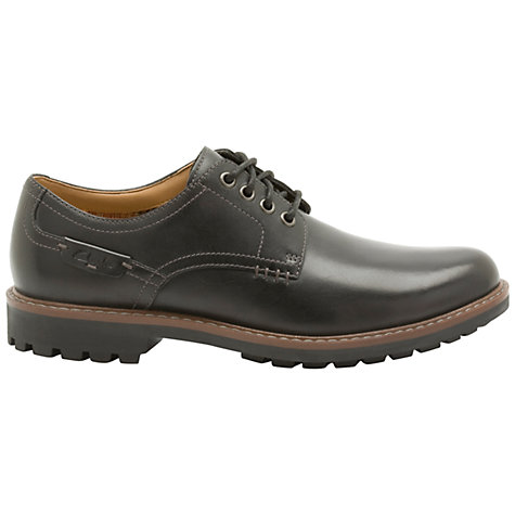Buy Clarks Montacute Hall Leather Derby Shoes John Lewis