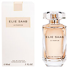 Buy Elie Saab Le Parfum Eau de Toilette Online at johnlewis.com