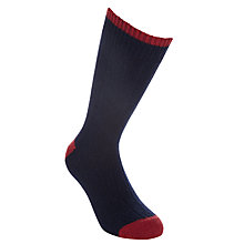 Buy John Lewis Cashmere Mix Toe and Heel Socks Online at johnlewis.com