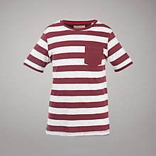 Buy Worn & Torn Wide Striped T-Shirt Online at johnlewis.com